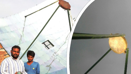 Welcome To Radha Energy Cell Solar Parabolic Dish